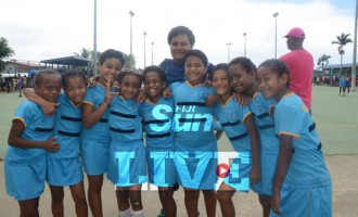 Suva Netball Girls Improving: Vadei