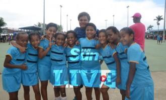 Suva Netball Girls Improving: Vadei