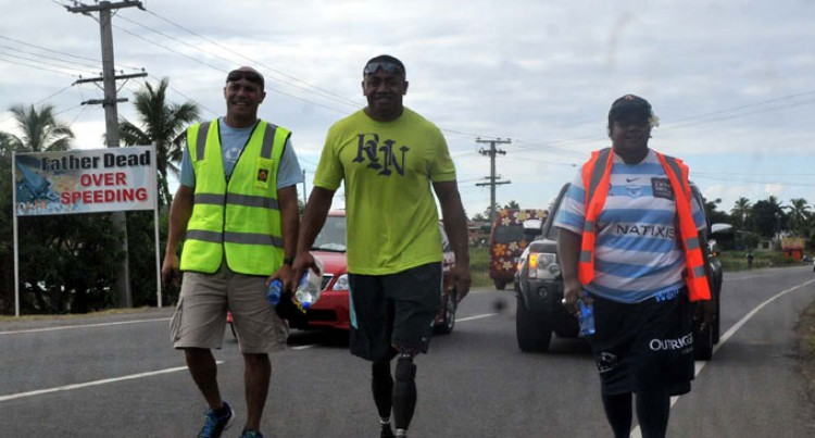 Paralympian Derenalagi Inspires For Outrigger