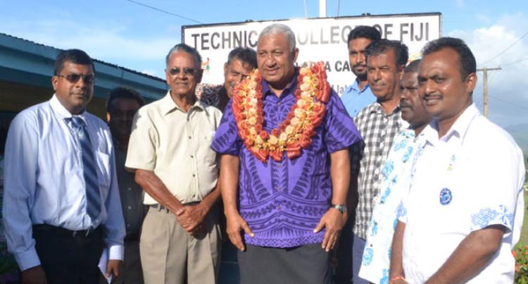 More Trades People Needed, Says PM Bainimarama