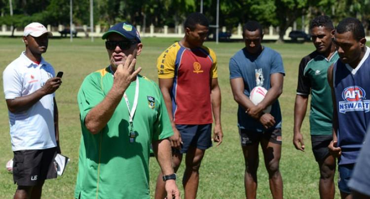 NRL Helping Fijians Improve