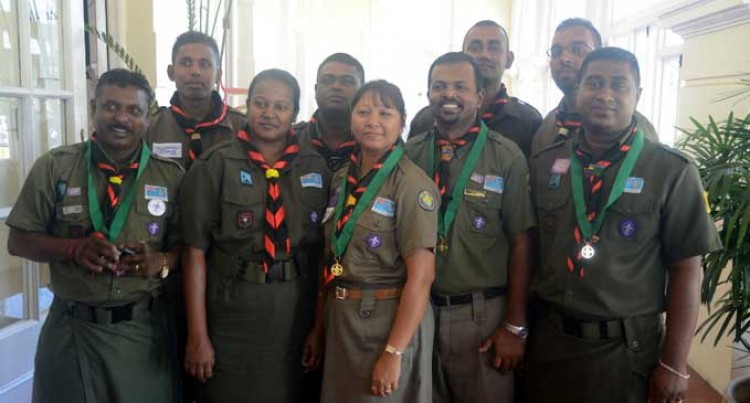 President Nailatikau Challenges Scouts