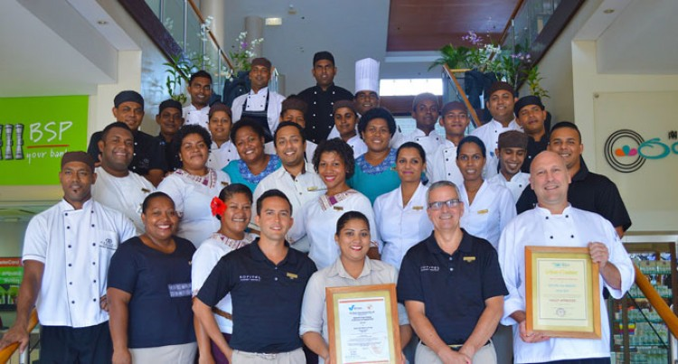 Sofitel First In Fiji To Receive HACCPP Certification