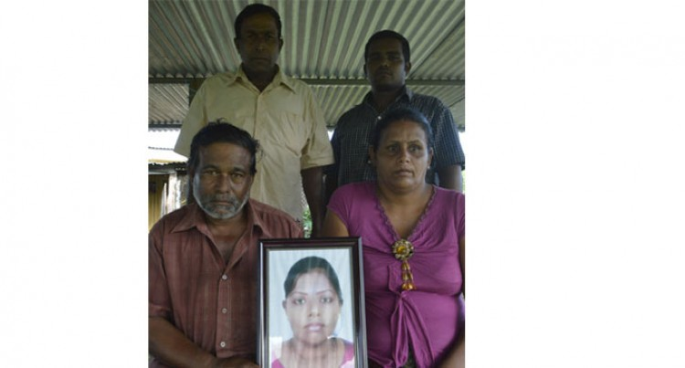 Family Mourns Daughter