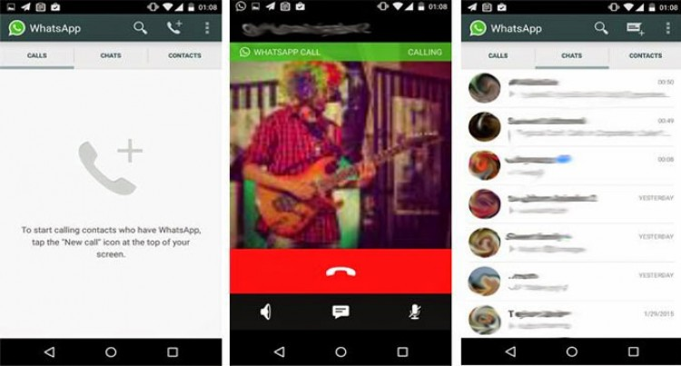 WhatsApp Voice Calls Now Work On Android, iOS Coming Soon