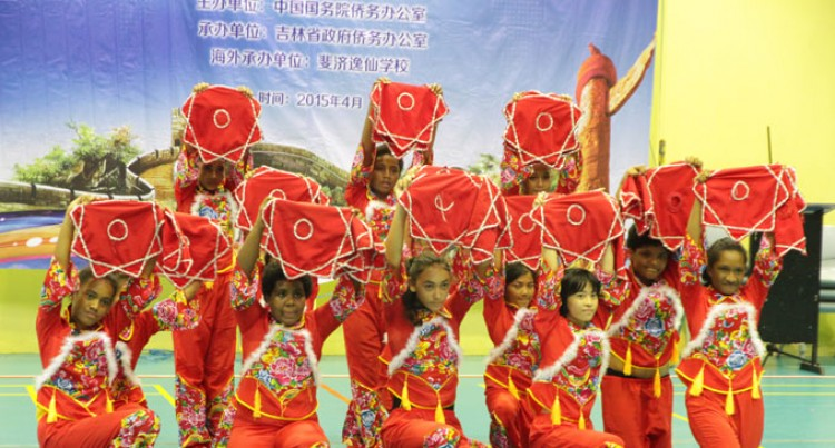 Yat Sen Students Learn Chinese Culture