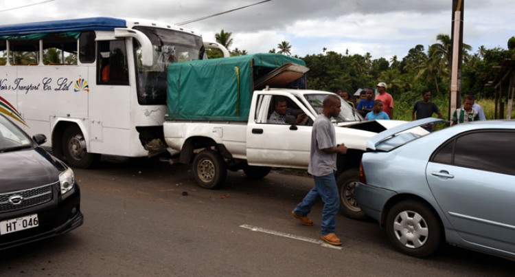 Accident Lands Two In Hospital