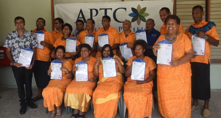 129 Graduate From APTC