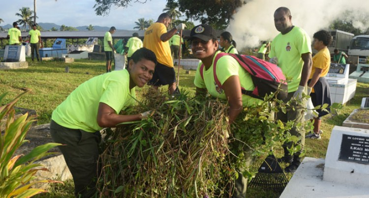 Corrections Staff In Massive Cemetery Clean-Up