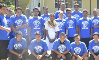 Samoans Make Their Debut At Govind Park