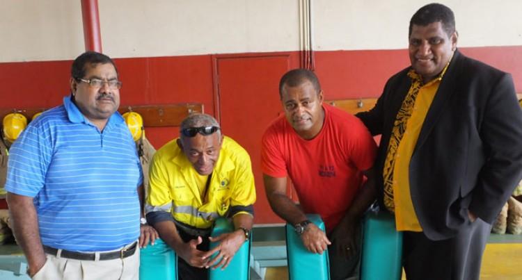 Suva Donates Scrum Machines