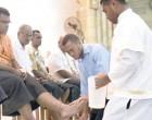 Catholics Re-enact Ritual