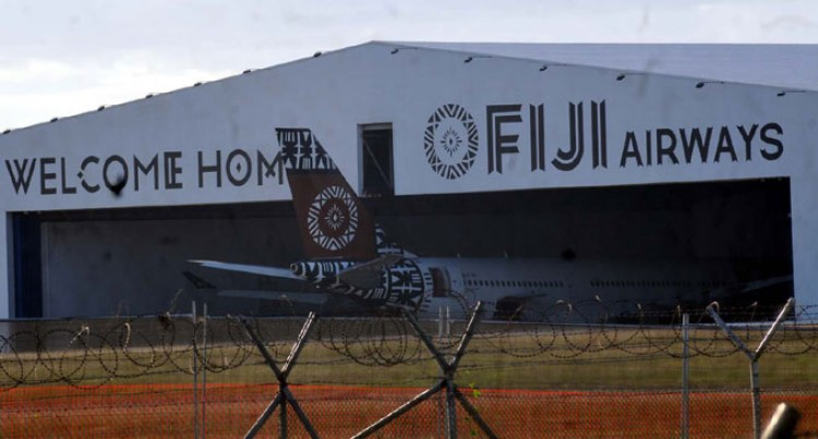 Fiji Airways Airbus Damaged While ATS Loading Cargo