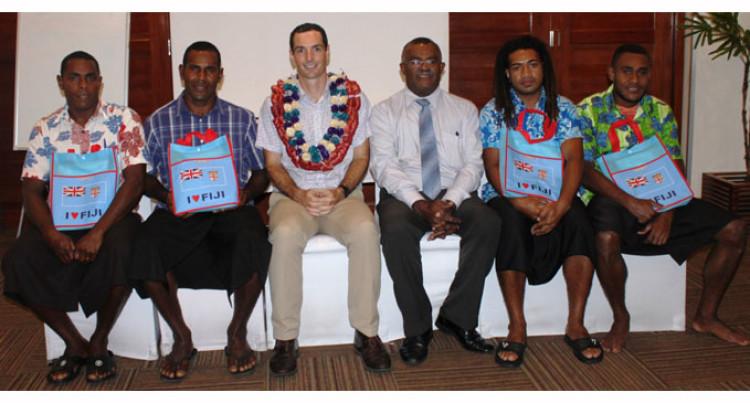 4 Fijians Leave For Australia