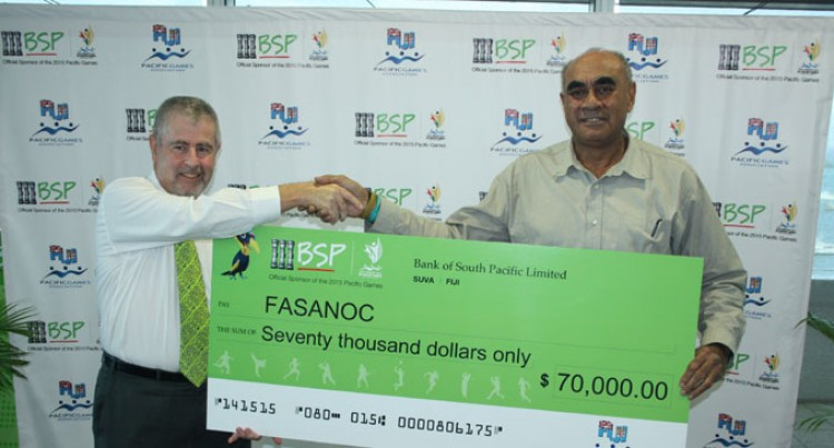 Team Fiji Receives $70,000 Boost