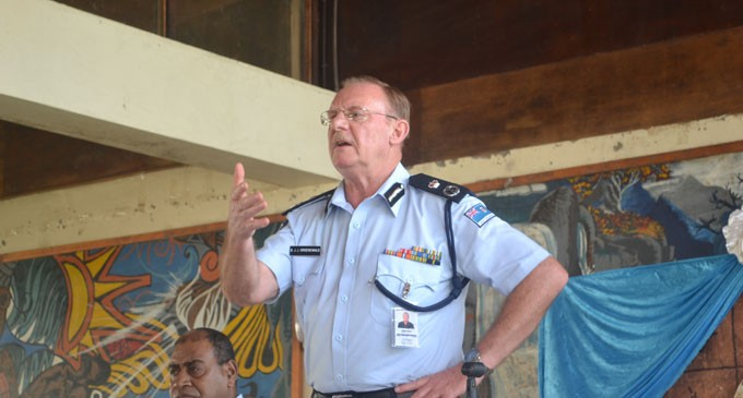 Level Of Service Concerns Police Chief