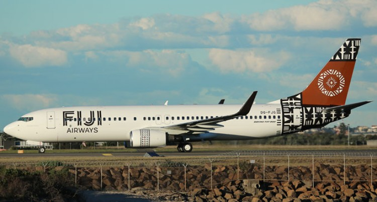 New Boeing 737-800 Joins Fiji Airways Fleet Today