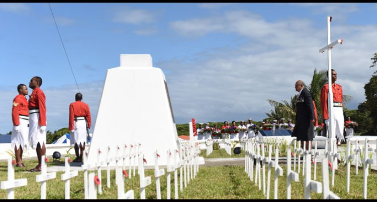 Salute For Fijian War Heroes