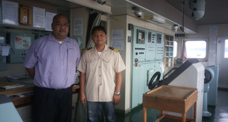 Multi-Purpose Vessel Captain Commends Port Services