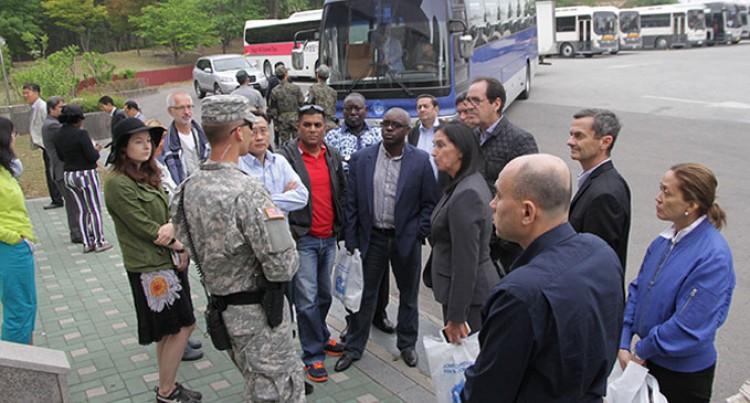 DMZ Visit Wows Media Delegation