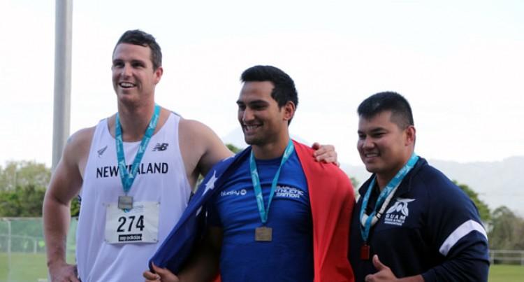 Samoan Breaks Oceania Discus Record In Australia