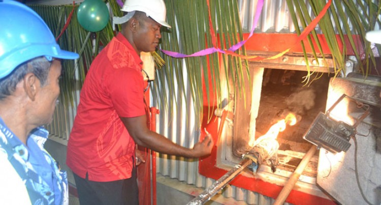 Labasa Mill Fires Up Boiler