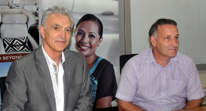 Fiji Airways, Wellington Airport Sign Support Agreement