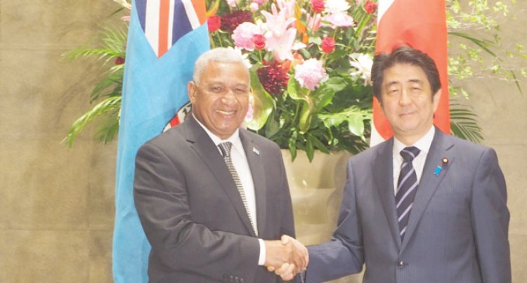 PM Gets Big Japan Boost