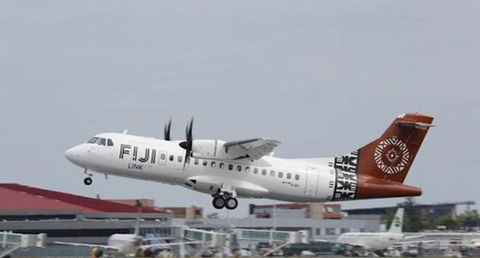 Fiji Link ATR Fleet Don Moustaches For Prostate Cancer Awareness