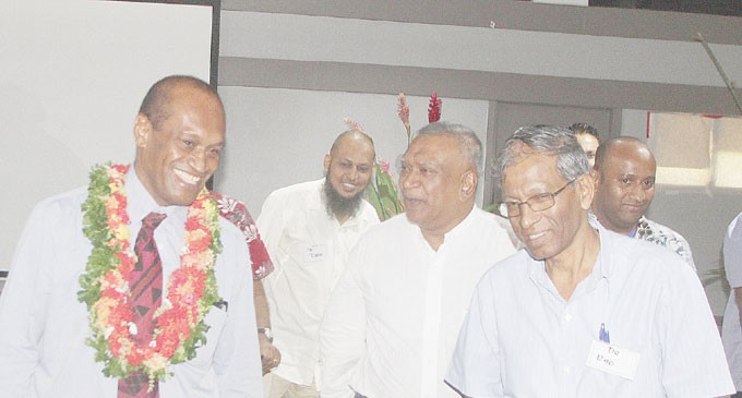 Fiji Team Helps Review Health Act
