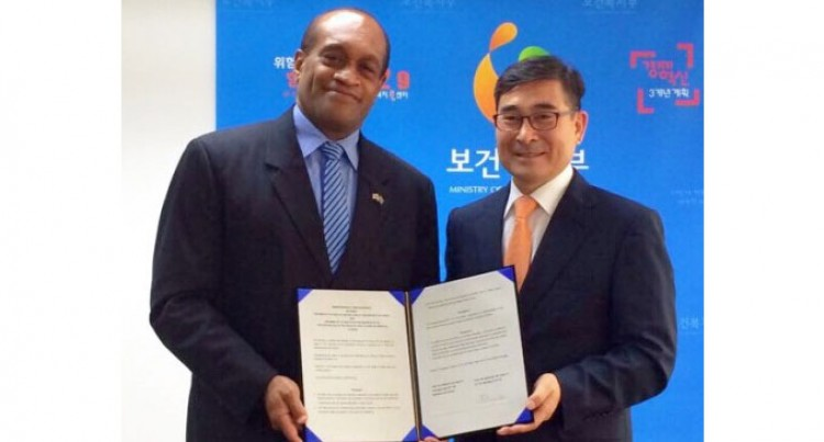Fiji, South Korea Sign Health Pack