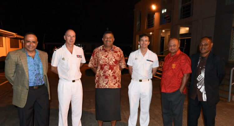 Fijian Navy Hosts French Counterparts