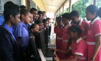 Gurukul Primary Gets 8 Computers