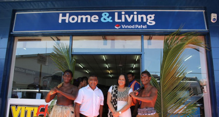 Vinod Patel Opens Home And Living In Sigatoka Town