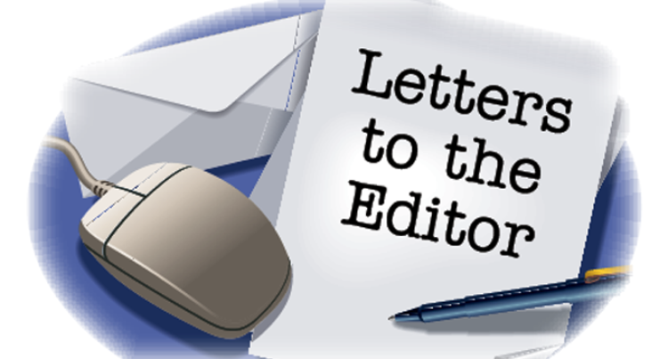 Letters To The Editor, May 30, 2015