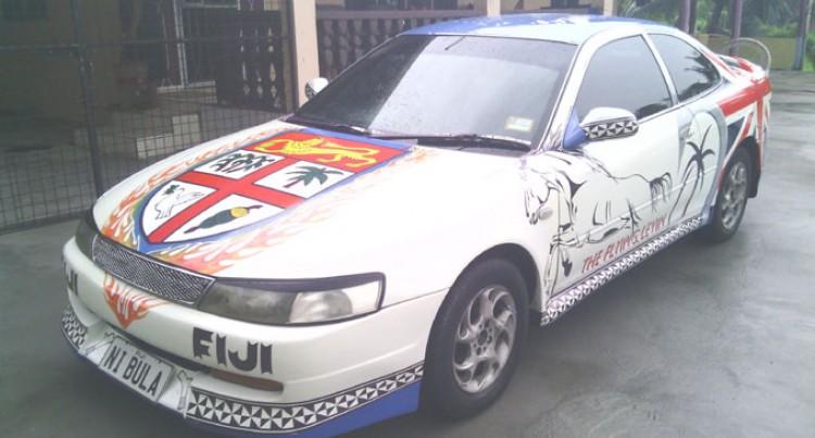A Patriotic Fijian's Toyota Levin