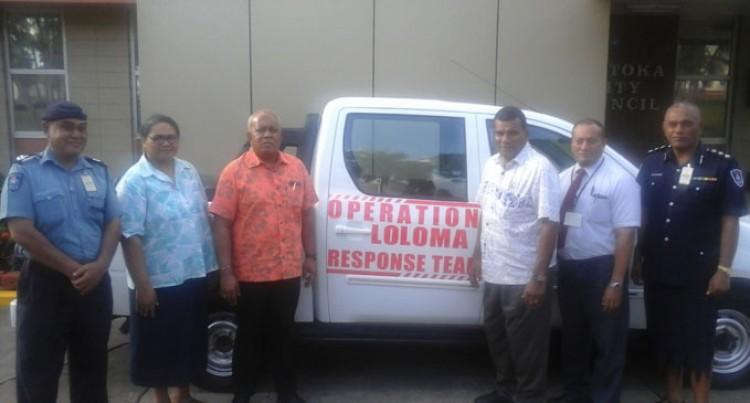 Vehicle To Loloma Team