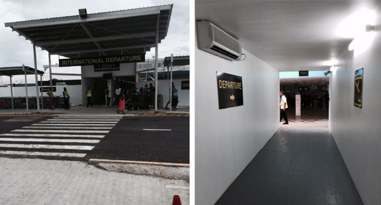 AC Containerized Nadi Check-in Terminal