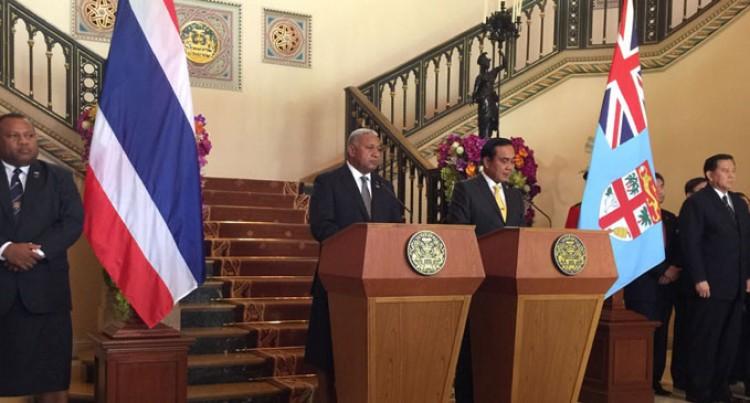 EDITORIAL: PM Bainimarama Walking The Talk In Japan And Thailand
