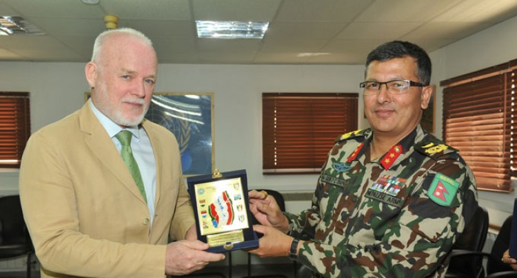 UNDOF Force Praises Fijian Soldiers