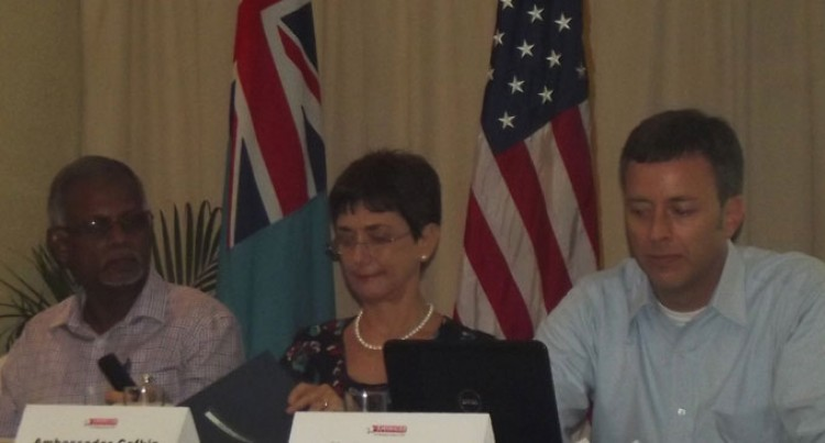 US Ambassador Cefkin Commends Fiji's Growth