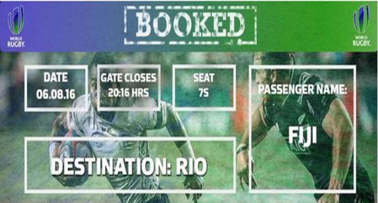 Fiji Heads To Rio