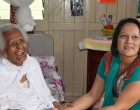 Akbar At Care Home For Mother's Day
