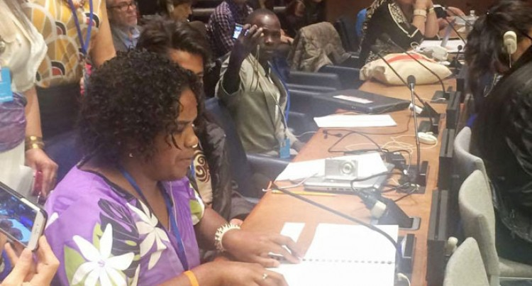 Blind Fijian Activist Shows Way At The UN