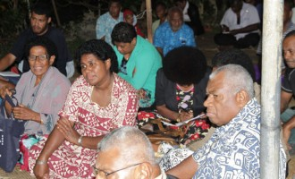 SODELPA Meets Supporters In Suva
