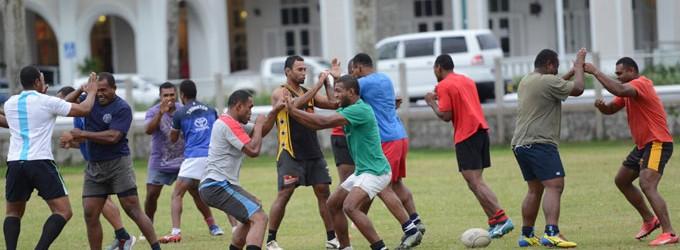 'Ice' Motivates Suva Team