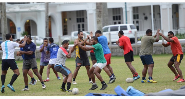 'Ice' Motivates Suva Team