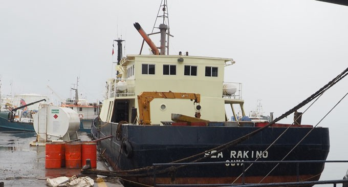 MV Sea Rakino Returns From Lau