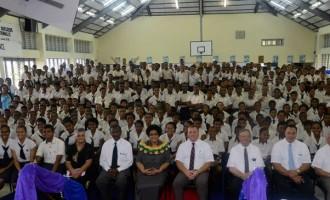 Dr Luveni Meets LDS Students