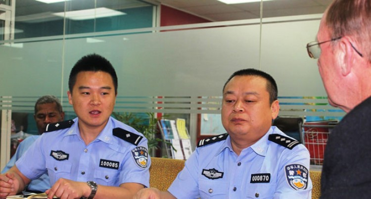 Police Welcome Chinese Officers